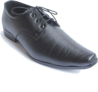 PFC 6019blk Lace Up Shoes