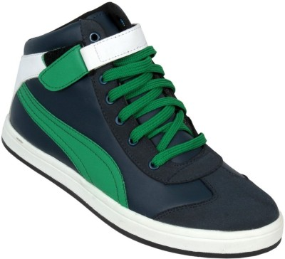 Ztoez Green Casual Shoes