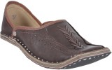DFR Ethnic Shoe Jutti-Redish Brown Jutis...