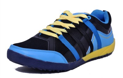 Black Tiger Men's Synthetic Leather Sports Shoes 4292-Bl-Sky-9 Casuals