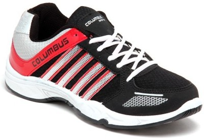 Columbus Premium Quality Running Shoes(Red, Black)