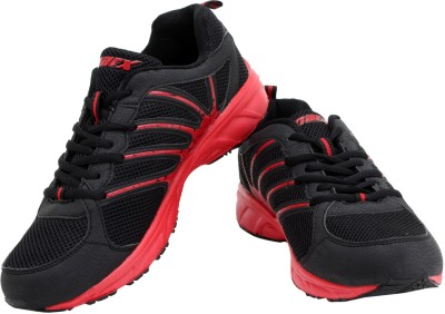 Sparx Stylish Black & Red Running Shoes