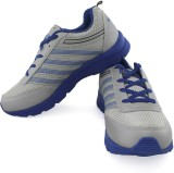 Vector X Sports Shoes (Grey, Blue)
