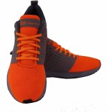 Sega Extro Running Shoes (Orange, Grey)