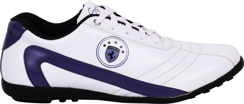 Nexq Purple Walking ShoesWhite Purple