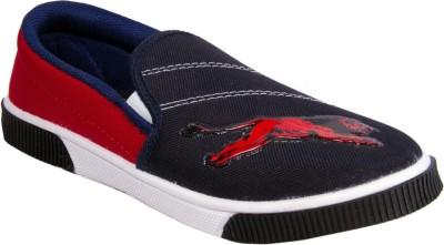 Star Ab Lionbluered Canvas Shoes