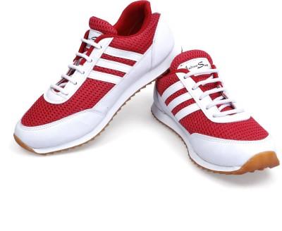 Andrew Scott Red-White Running Shoes