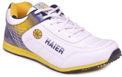 Haier Sports Beat Navy Blue Yellow Running Shoes