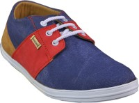 Adjoin Steps Multi Colour Casual Shoes(Blue)