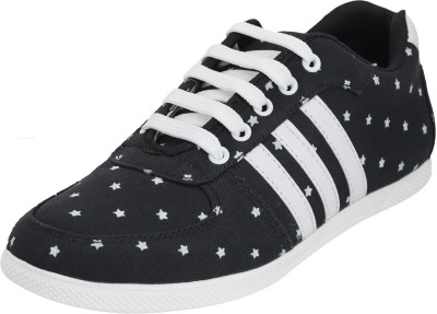 Advin England Black & White Shoes Sneakers
