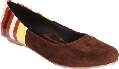 Indulgence Suede Finish Bellies(Brown)