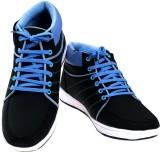 American Fits Sneakers (Black, Blue)