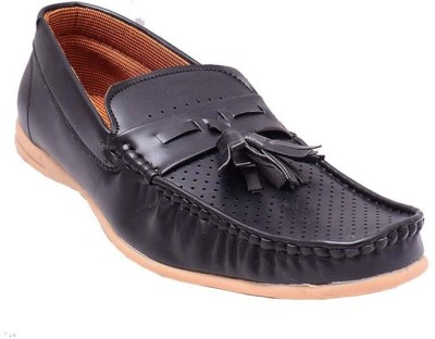 GS Collection Style Loafer Black Casuals