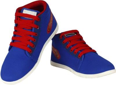 Vivaan Footwear Blue-154 Sneakers
