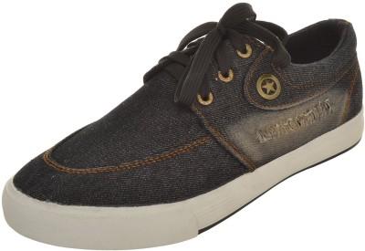 Kuangda Men's Denim Casual Shoes Canvas Shoes