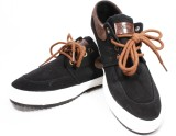Krish Canvas Shoes (Black)