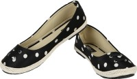 Footrace Polka Dots Bellies(Black, White)