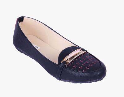 Goyal Black Cutwork Loafers(Black)