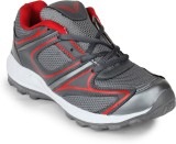 11e FINE-5115 Running Shoes (Grey, Red)
