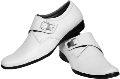 Prolific Royal White Monk Casuals, Corporate Casuals, Party Wear