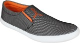 Nexq Casual Shoes (Grey, Orange)