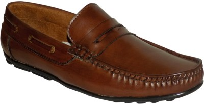 Style 98 Brown Trendy Loafers