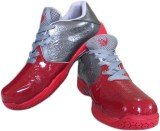 V22 Champ Badminton Shoes (Red, Grey)