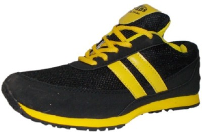 Port Yellow Aryan Curo Sports Training & Gym Shoes