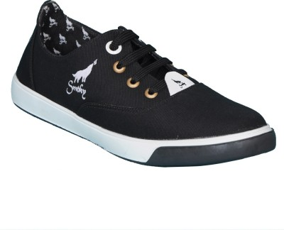 Smoky Canvas Black Stylish shoes Canvas Shoes