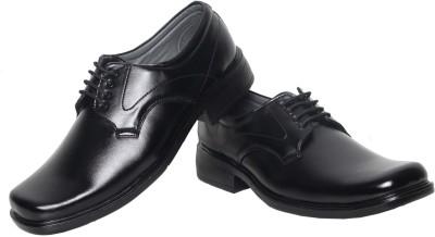 Azzaro Black Jumbo Lace Up Shoes
