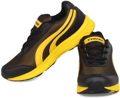 Tracer Srs-Sturdy-25 Black/Yellow Running Shoes