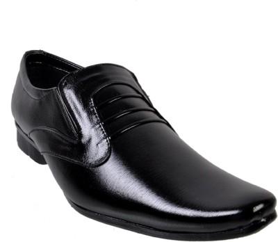 Walk Free Effective Black Party Wear Shoes