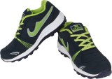 Air Space Running Shoes (Blue, Green)