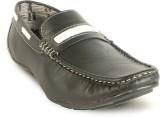 Calaso 202 Black Loafers (Black)
