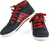 Vivaan Footwear Red-122 Sneakers (Red, B...