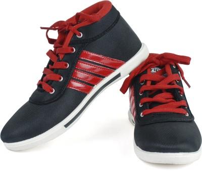 Vivaan Footwear Red-122 Sneakers