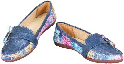 Heels And Toes Casuals, Loafers, Outdoors, Mocassin, Corporate Casuals(Blue)
