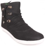 NYN Wrinkled Casual Shoes (Black)