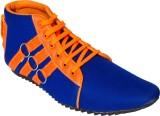 Gito Sneakers (Blue, Orange)