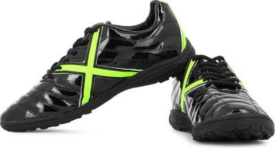Vector X Kobra Indoor Football Shoes(Black, Green)