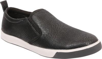 Claude Lorrain Men's Black Casuals Shoes