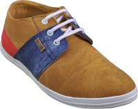 Adjoin Steps Multi Colour Casual Shoes(Beige)