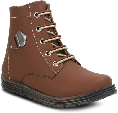 Get Glamr Tan Mens Boots