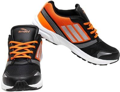 Triqer 757-blk-Orng Running Shoes