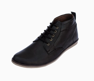 Verro Chino Uptown Urban - Black Casual Shoes