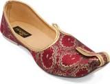 Paduki Ethnic Footwear Mojaris (Multicol...