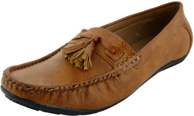 VOGUE GUYS tan killer lace loafer Loafers