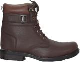 Azzaro Black Royal Step Boots (Brown)