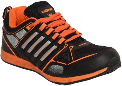 Twd Tp1144 Blk Org Running Shoes