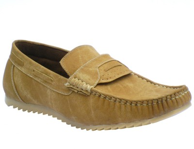 Reveller Khaki Outdoors Loafers